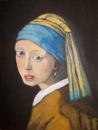 Afbeeldingsresultaat voor meisje met de parel vermeer