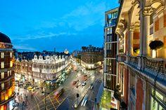 Beautiful London City View from Hotel Mandarin Oriental Hyde Park. London Shopping, London Hotels, London Travel, Mandarin Oriental, London Tourist Guide, Hyde Park London, London View, London Night, Things To Do In London