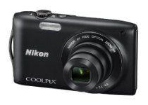 Nikon COOLPIX S3300 Compact Digital Camera - Black (16MP, 6x Optical Zoom) 2.7 inch LCD Kamera Nikon, Nikon Coolpix, Fujifilm Instax Mini, Compact, Black, Website, Black People