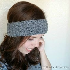 This easy crunch stitch makes a beautifully textured headband. This headband is just wide enough to keep those ears warm and still be a cute winter accessory. PATTERN Materials Worsted weight yarn (category 4) 5.0 mm hook Yarn needle Scissors Level easy+ Pattern Notes & Stitches to Know ch – chain sl st – slip stitch …