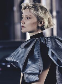 Publication: Vogue Australia July 2016 Model: Mia Wasikowska Photographer: Nicole Bentley Fashion Editor: Kate Darvill
