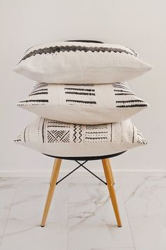 Homegirl Collection's minimal printed pillows.