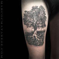 Tattoo etching engarving Marco C. Matarese Milan