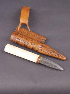 Viking belt knife, Dublin 1 , Viking & Saxon Knives.  From Merchants of Menace.