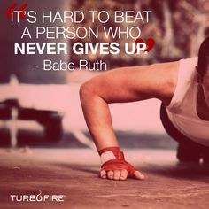 Never give up and never back down!  Decide. Commit. Succeed. MHackworthFitness@gmail.com  #fitness #health #nutrition #motivation #support #getfit #cleaneating #workout #getresults #inspire #goals