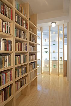 James Koster Architect-Hall bookcase