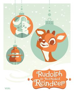 PLANET-PULP // CELEBRATING PULP CULTURE: Rudolph The Red Nosed Reindeer