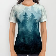 The Heart Of My Heart // So Far From Home Edit All Over Print Shirt by Tordis Kayma | Society6