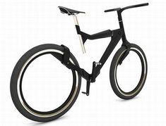 Avant-garde 'Hybrid' city bike for trendy bikers!