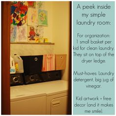 Use rectangular baskets: How to Stop Being Overwhelmed by Laundry (How I Found a System That Works) - Red and Honey