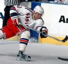 pavel bure. with NY Rangers