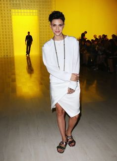 Ruby Rose   At the Suboo presentation during Mercedes-Benz Fashion Week Australia