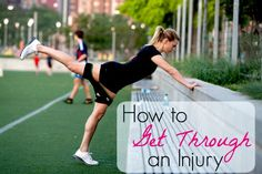 Ever had to work through an injury? Pro soccer player Lauren Sesselmann is sharing her tips for overcoming an obstacle and getting back on top of your game!