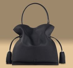 ■LOEWE■FLAMENCO BAG 30 Black