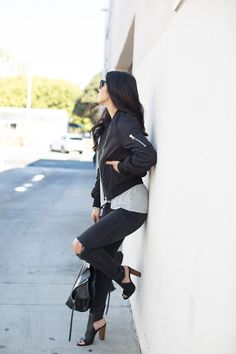 9194ce8f2 85 Best Bomber jacket outfits images in 2019 | Fashion outfits ...