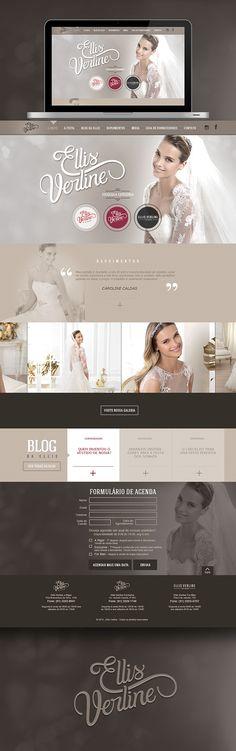 Cool Web Design, Eilis Verline. #webdesign #webdevelopment [http://www.pinterest.com/alfredchong/]