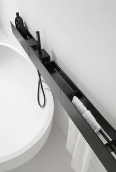 Detail from Agape collection 'the modern bathroom'. Their designs are always so innovative, minimal and timeless. Detail from Agape collection 'the modern bathroom'. Their designs are always so innovative, minimal and timeless. Modern Bathroom, Small Bathroom, Master Bathroom, Vanity Bathroom, Bathroom Storage, Shower Storage, Bathroom Black, Diy Vanity, Minimalist Bathroom