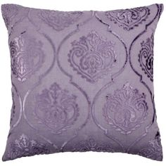 """Andora Pillow 26"""" - Orchid (57 CAD) ❤ liked on Polyvore featuring home, home decor, throw pillows, pillows, purple, orchid throw pillows, purple home decor, inspirational home decor, plush throw pillows and purple throw pillows"""