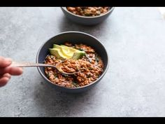 Red lentil curry recipe with spinach is similar to many dishes at an Indian restaurant. But I've simplified the curry spice mixture and made the whole dish a lot healthier. Coconut milk makes it creamy, healthy, gluten-free and vegan. Curry Recipes, Vegetarian Recipes, Cooking Recipes, Lentil Recipes, Spinach Recipes, Vegetable Recipes, Lentil Curry, Lentil Dahl, Curry Spices
