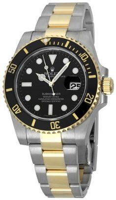 Rolex Submariner Black Index Dial Oyster Bracelet Mens Watch 116613BKSO | Citizen Watches For You And Her