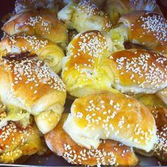 Croissant de queijo da POLOS pães e doces