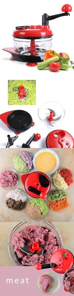 Choppers 178053: Manual Food Processor, Hand-Powered Miracle Chopper Baby Multi Vegetable... -> BUY IT NOW ONLY: $37.76 on eBay!