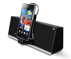 4 cool speaker docks just for Android phones. Hello, holiday gifts!