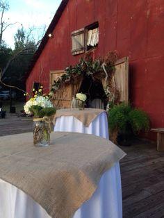 Barn wedding reception #wedwithstyle
