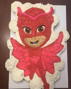 PJ Masks Owelette Cupcake Cake