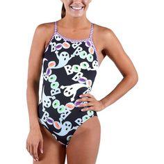ef33d3de06 Dolfin Uglies Women s Halloween Boo V-2 Back Swimsuit. Halloween BooSwimsuitBathing  SuitsSwimwearOne Piece ...