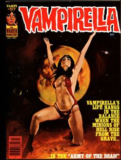 VAMPIRELLA #97 Jose Gonzalez Rafael Auraleon Esteban Maroto Jose Ortiz Sexy Blood Sucking Vampire Cult Anti-Hero