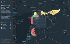 Syria frontlines full