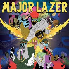 new Major Lazor album cover