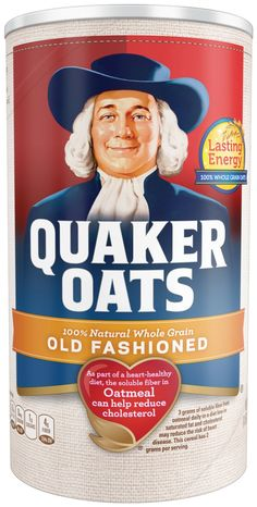Quaker Oats Old Fashioned Oatmeal, 18 oz Canister ** Quickly view this special product, click the image : Groceries