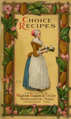 I have this book--I love it!                                                  1925 Vintage Bakers Chocolate Recipe Ebook (Download)