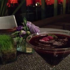 Berries martini @ W Hotel, México DF