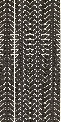 Linear Stem 110398 from Orla Kiely Wallpapers for Harlequin