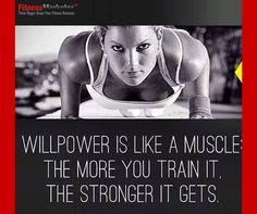 Willpower ~ Fitness Business www.fitnessmarketer.com