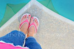 Blogger, the NapTime Reviewer is still hanging onto summer in her new pair of Propet Rejuve Hartley Thong Sandals.