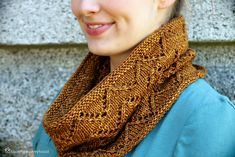 Not this color . .. . but so cute. Malabrigo yarn     Ravelry: Downton Cowl pattern by Shannon Cook