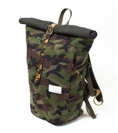 Nanamica Backpack Camo