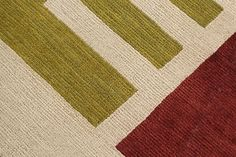 Les Modernistes, Conception, Cogolin rugs close up