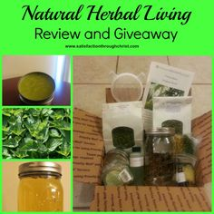 Natural Herbal Living - #Nettle Herb Box Review and Giveaway