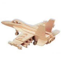 This natural wood F-18 Hornet 3D Jigsaw Woodcraft Kit, is a high grade 3mm wooden puzzles come with assembly instructions. F-18 Hornet - 3D Jigsaw Woodcraft Kit Wooden Puzzle  Price : $7.71 #models #jets #boysgifts http://www.thinkfasttoys.com/F-18-Hornet-Jigsaw-Woodcraft-Wooden/dp/B0011VVCHC