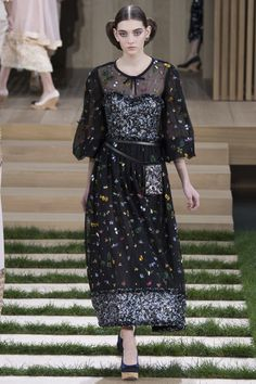 Chanel Spring 2016 Couture Fashion Show - Julia Rather