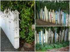 Birdhouse Fences #Birdhouse, #Birds, #Fence