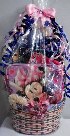 Handmade young girl gift basket ebay sale and ebay negle Images