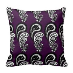 Pattern Pillows, Square Pattern Throw Pillows