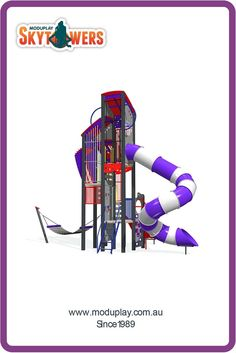The most musical tower in the entire playground! Visit moduplay.com.au to find out more.