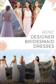 As a bride, you already have SO much to do. That's why Vow To Be Chic wants to make coordinating your bridesmaids' attire a piece of (wedding) cake. At Vow, you can curate your ladies' looks, save your fav dresses and notify your bridesmaids, then track their rental progress. Check one more wedding task off your list!